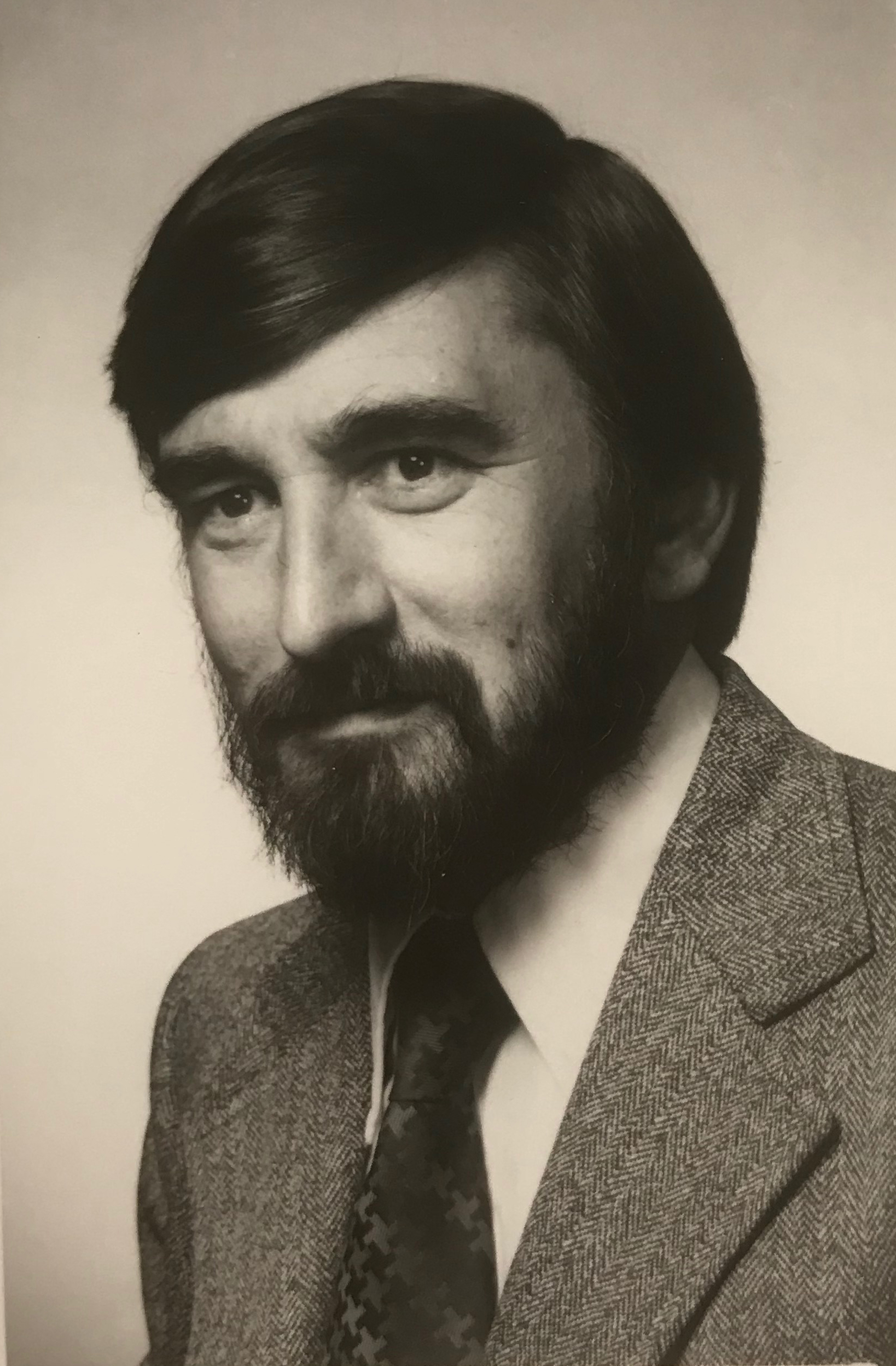 headshot Bill Cambray from 1974