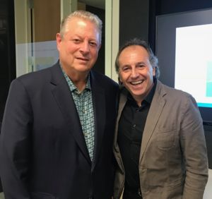 Al Gore and Bruno Basso photo